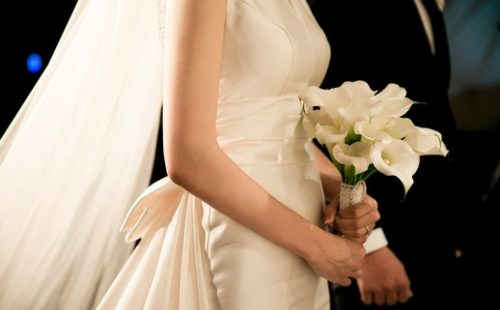 Mariage alliance fleur Magicien